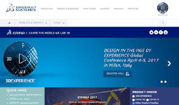 CATIA 3DEXPERIENCE е водещо решение за дизайн и опит на Dassault Systèmes
