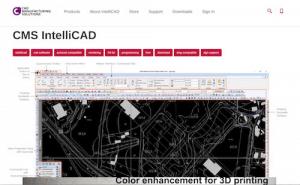 2D / 3D DWG CAD софтуер, CMS IntelliCAD е достъпна алтернатива на AutoCAD и MicroStation