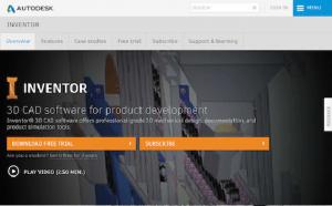 Inventor е 3D CAD софтуер за разработка на продукти, който предлага 3D професионален механичен дизайн