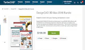 DesignCAD 3D Max е универсален софтуер за 3D моделиране на CAD