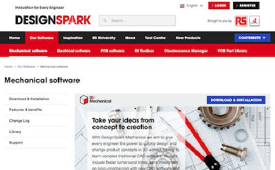 DesignSpark е общност на инженери и производители, предлагаща безплатен софтуер, онлайн ресурси и поддръжка за дизайн.