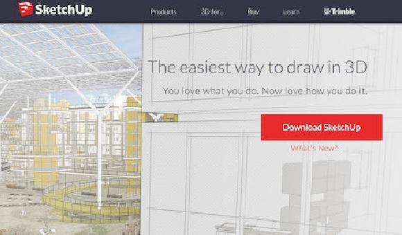 SketchUp - Интуитивен и мощен, този инструмент за 3D моделиране на софтуер