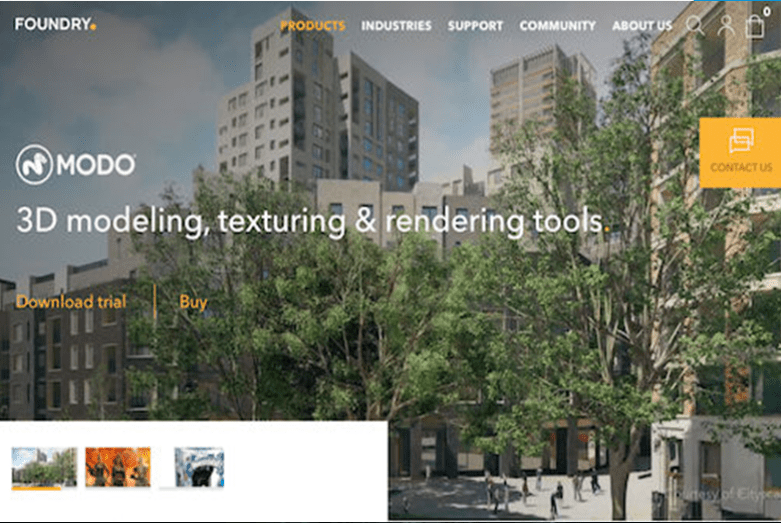 Foundry разработва иновативни софтуерни решения за индустрията за дизайн, визуализация и развлечение