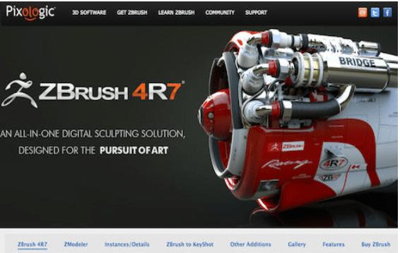 ZBrush 4R7, цялостно цифрово скулптурно решение