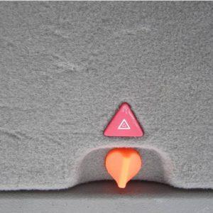 Audi – копче за авариен триъгълник