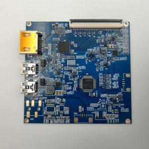 D8 LCD драйвър PCB