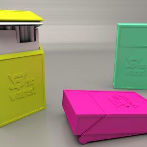 Cigarette box with a lid – Slim