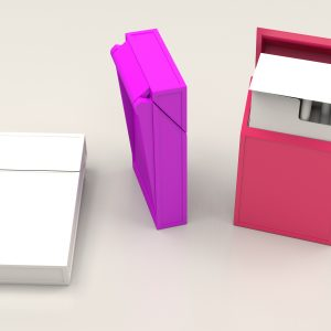 Cigarette box with lid – Super slim