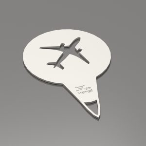 Coffee moulds – Airplane .stl
