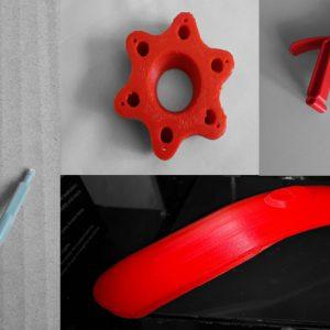резервни части - 3D принтирани модели