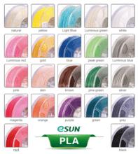 ESUN PLA 1.75-3.00 mm/1kg