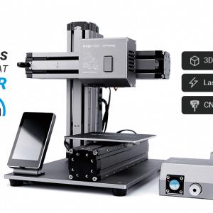 Snapmaker 3в1 3D принтер, CNC фреза, лазерен гравьор