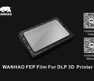Wanhao D7 FEP фолио 5.5″ A5