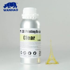 Wanhao UV resin – Water washable 500 ml
