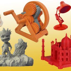 3D принтирани модели