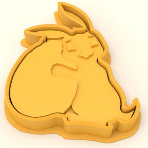 Cookie cutter – Bunny rabbit and eggs
